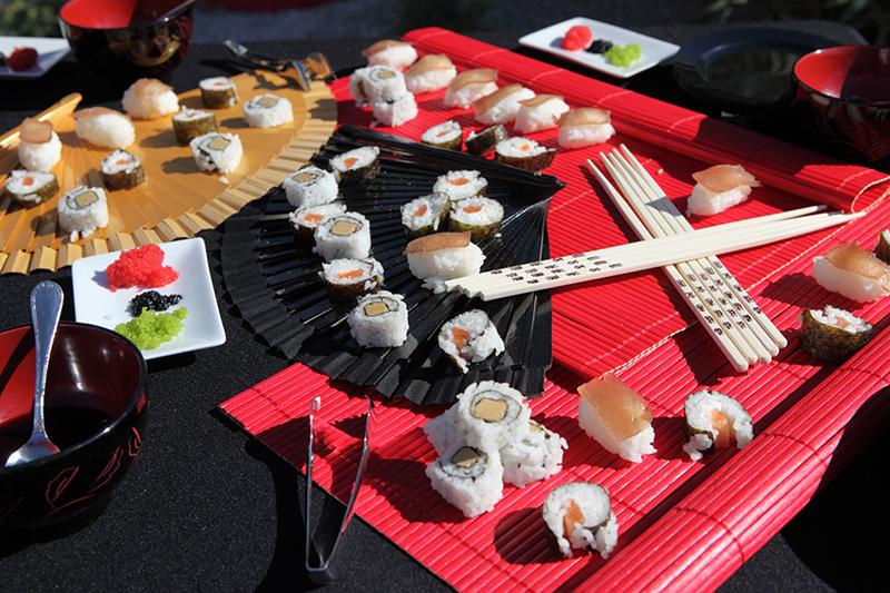 El secreto de una boda perfecta blog de bodas de palafox - Mesas japonesas ...