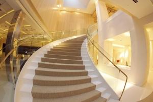 Escalera del Hotel Alfonso