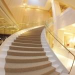 Escalera al Salón Triunfo de Baco