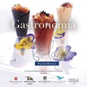 Gastronomía Bodas Palafox Hoteles